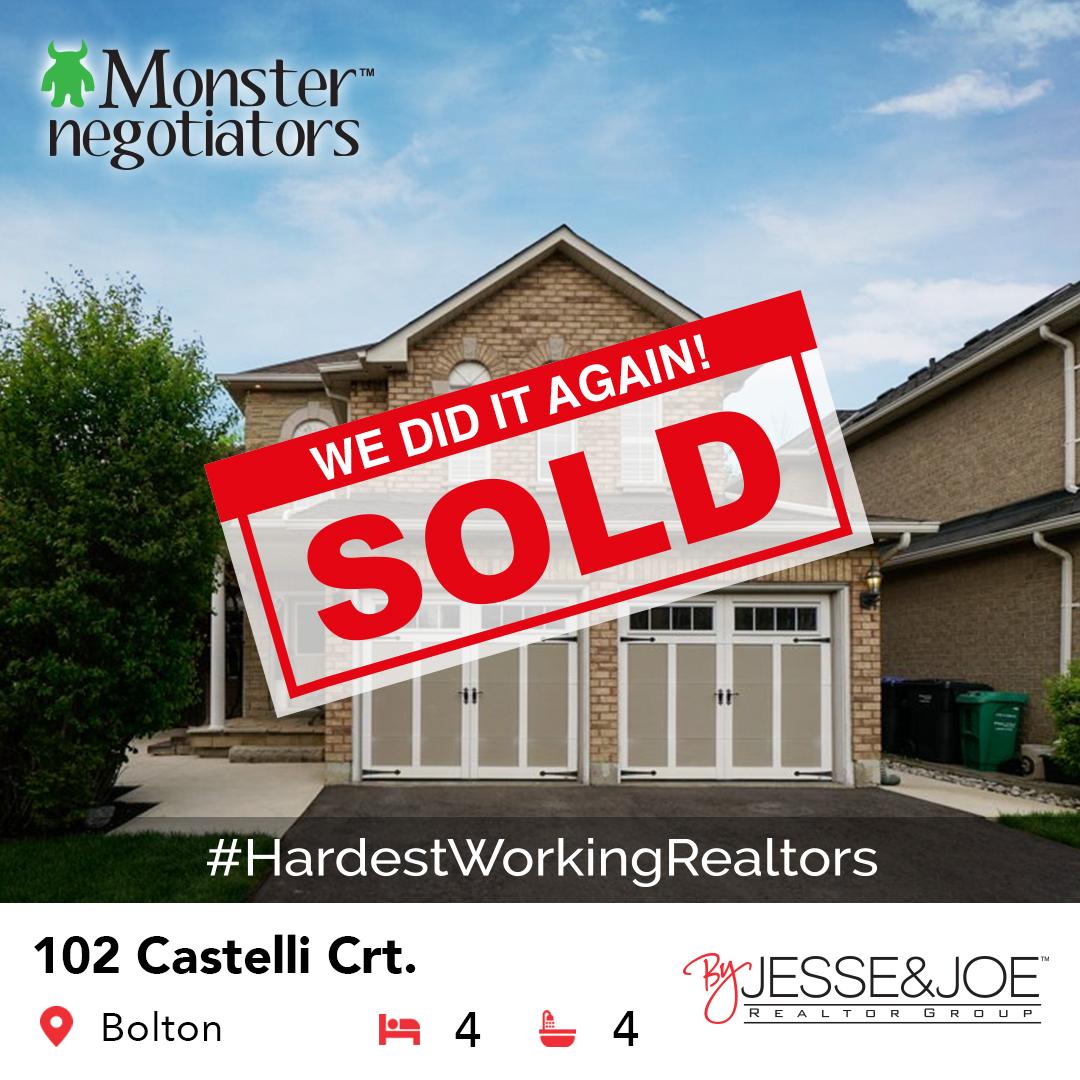 102 Castelli Court Sold!