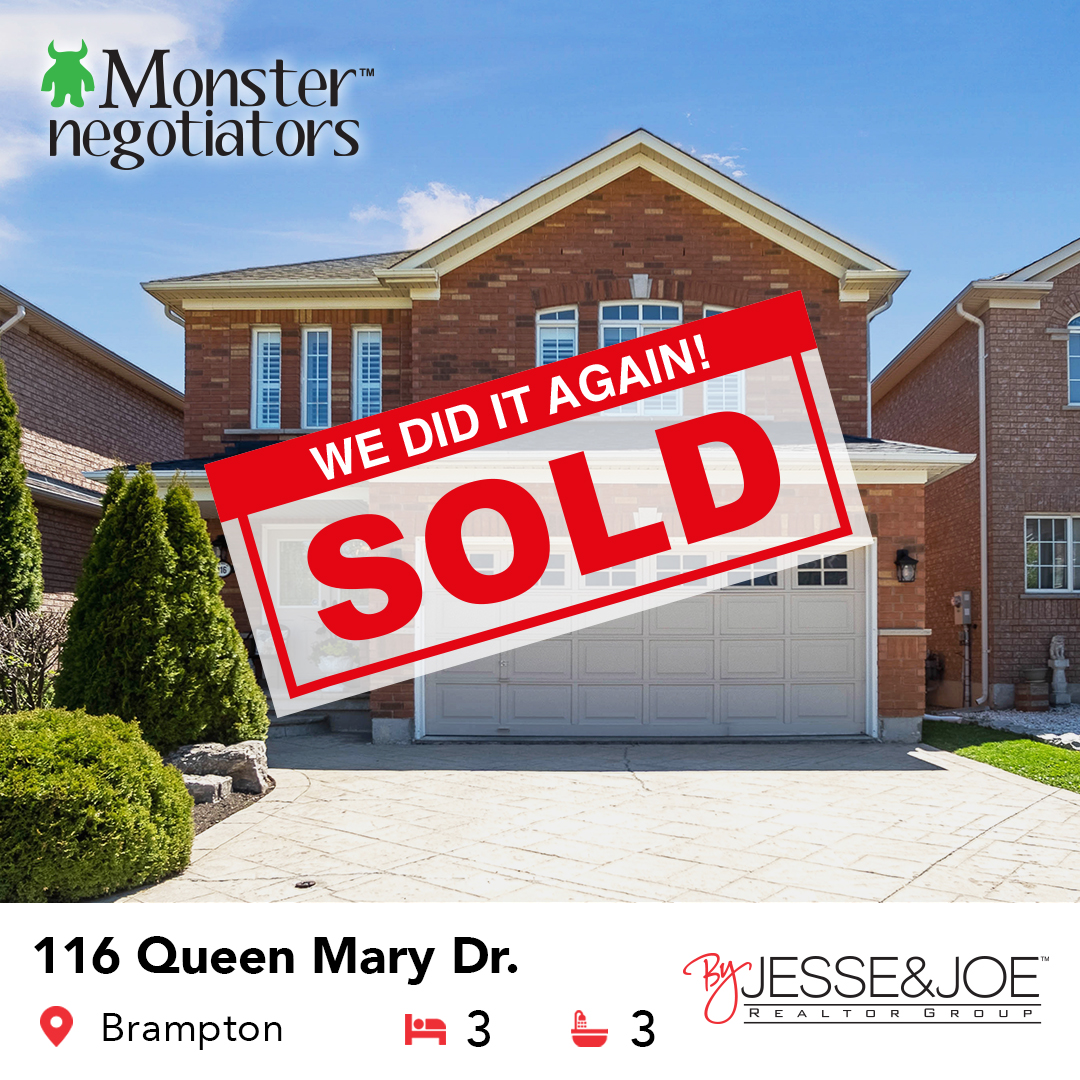 116 Queen Mary Drive Sold!