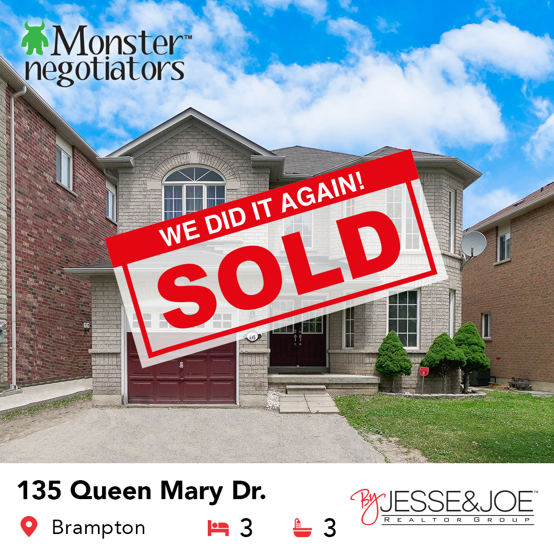135 Queen Mary Dr Sold!