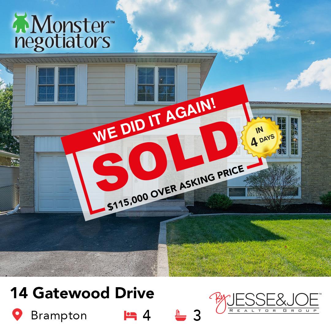 14 Gatewood Dr Sold!