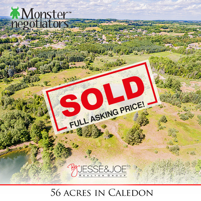 56 ACRES Mt. Pleasant Rd Sold!