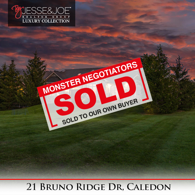 21 Bruno Ridge Drive Sold!