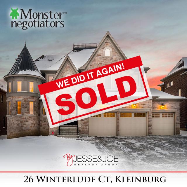 26 Winterlude Court Sold!