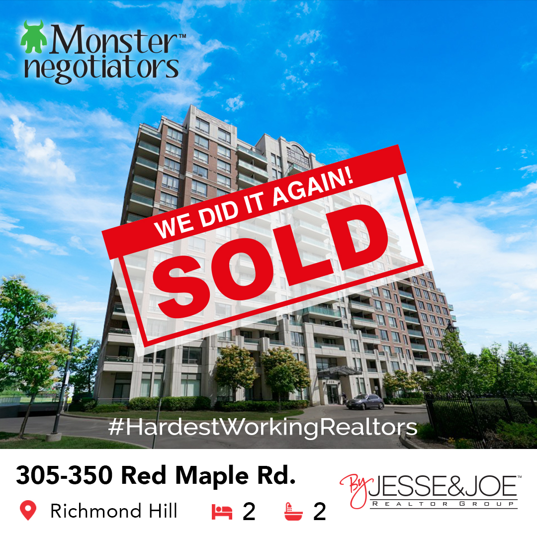 350 Red Maple Rd 305 Sold!