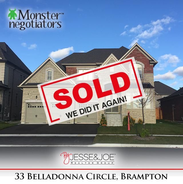 33 Belladonna Circle Sold!