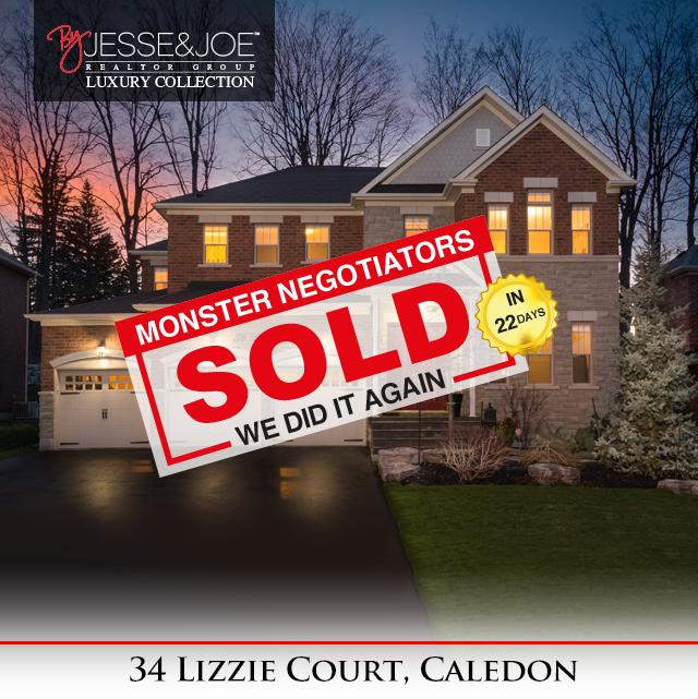 34 Lizzie Court Sold!