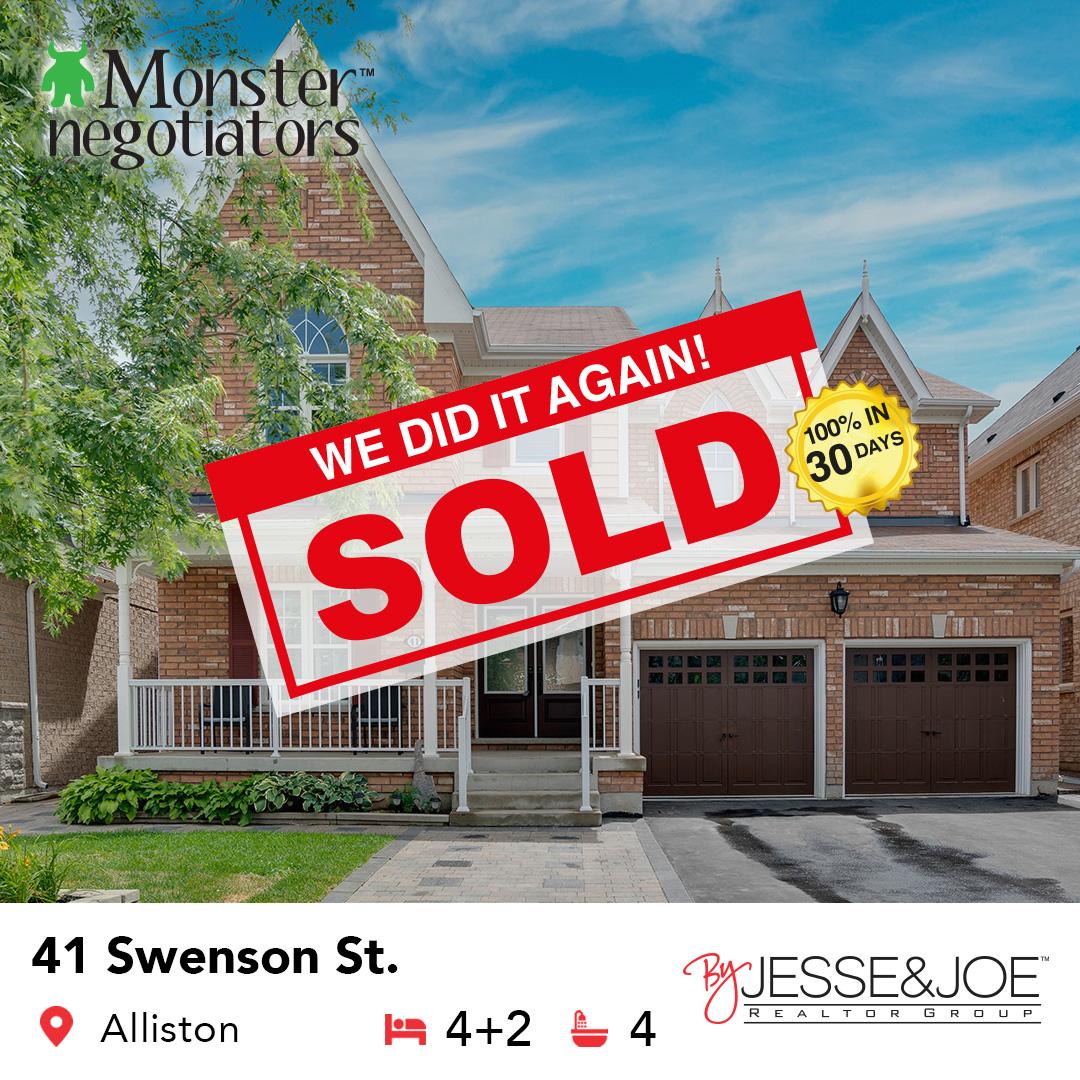 41 Swenson St Sold!