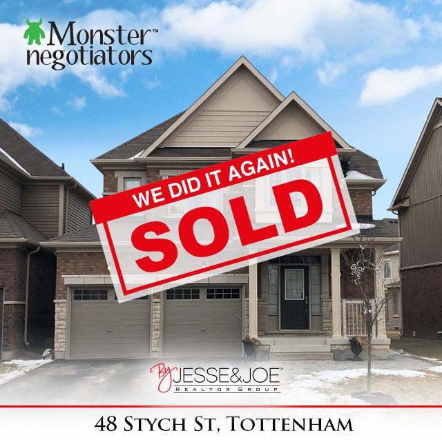 48 Stych Street Sold!