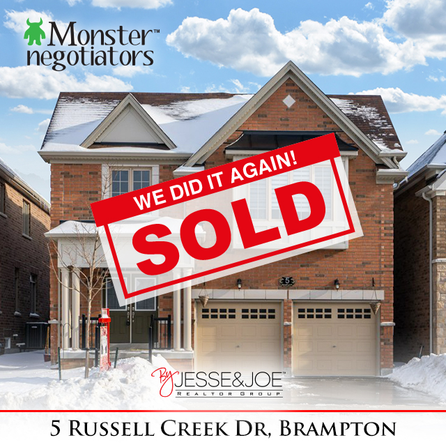 5 Russell Creek Dr Sold!