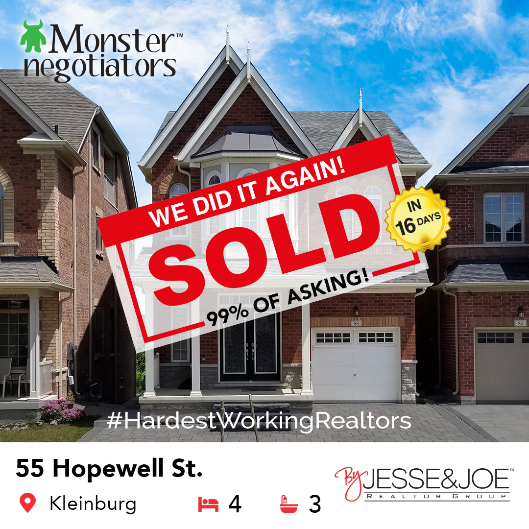 55 Hopewell Street Sold!