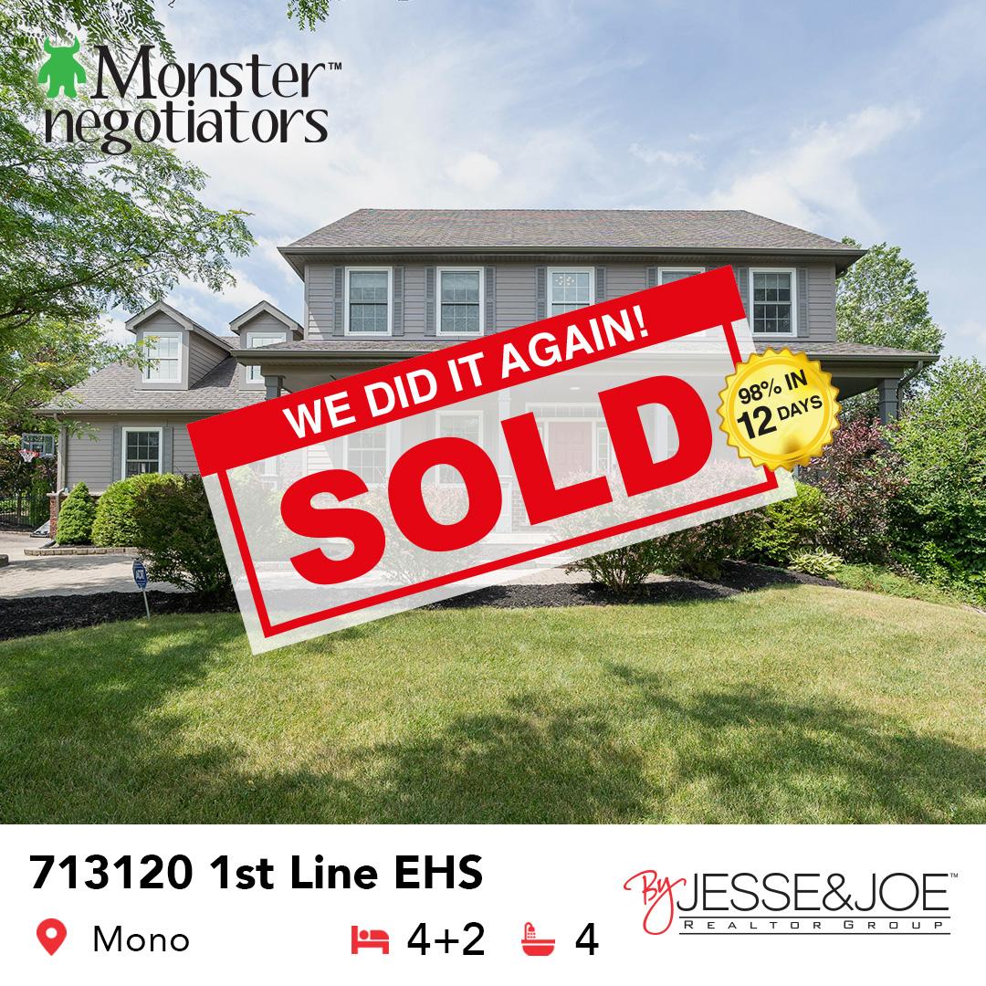 713120 1st Line EHS Sold!