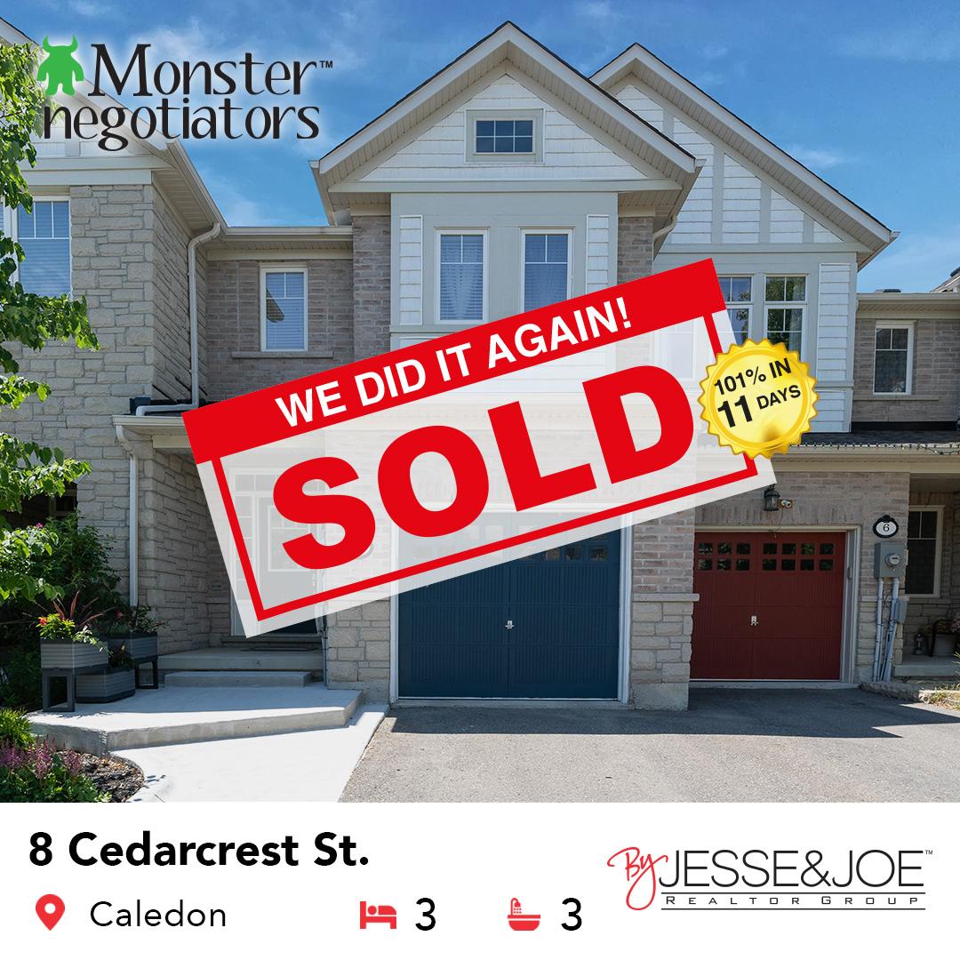 8 Cedarcrest St Sold!