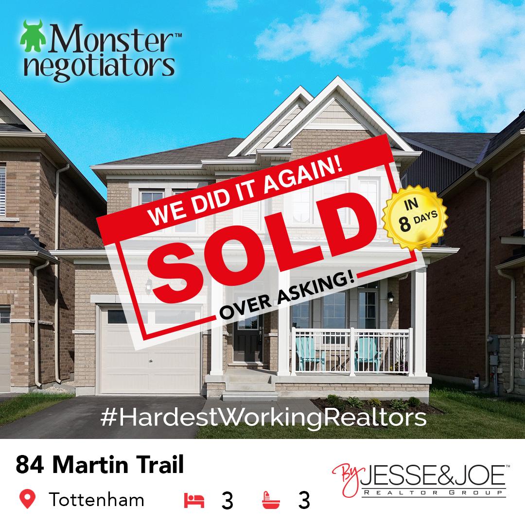 84 Martin Trail Sold!
