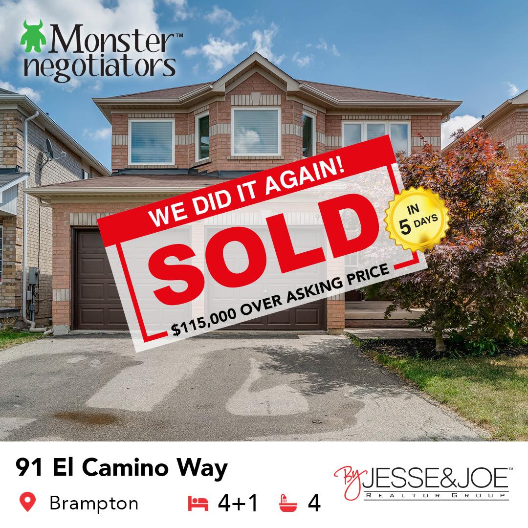 91 El Camino Way Sold!