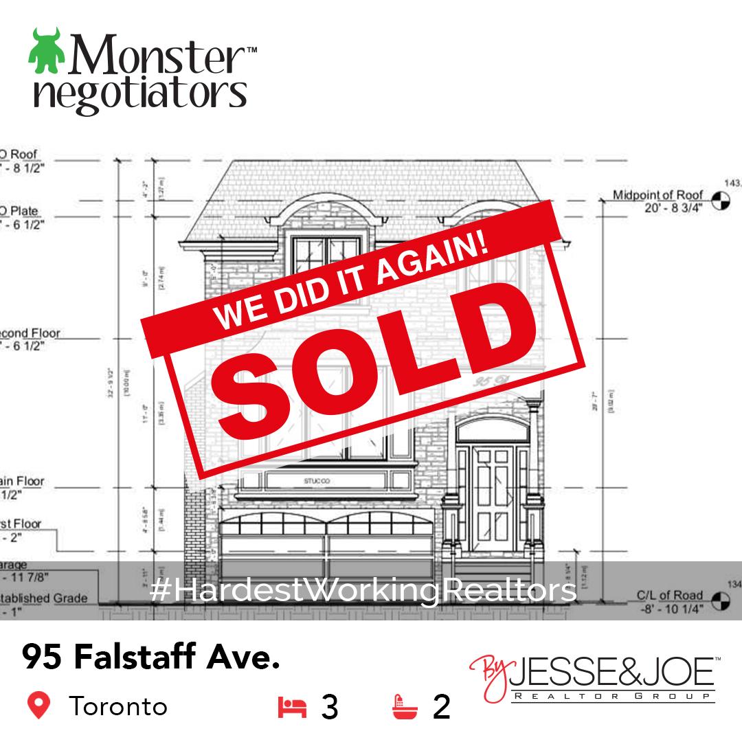 95 Falstaff Ave Sold!